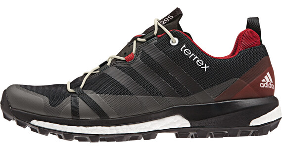 adidas Terrex Agravic Shoes Men dark grey/core black/power red